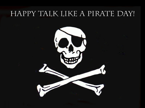 Happy Talk Like A Pirate Day