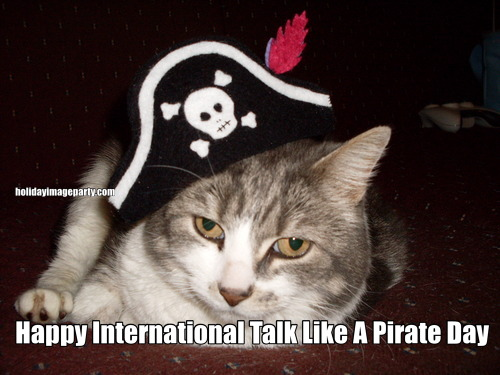 Happy International Talk Like A Pirate Day