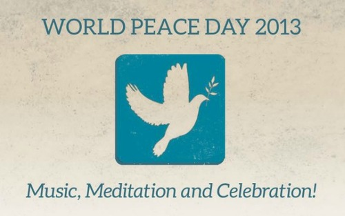 World Peace Day 2013