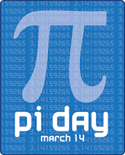 Pi Day March 14