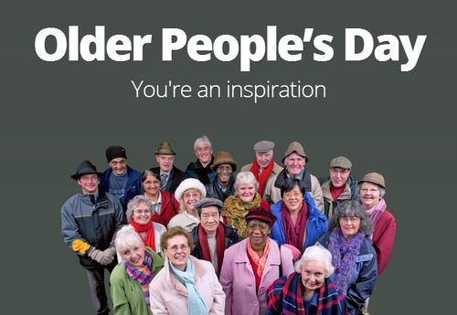 Older People's Day You're an inspiration