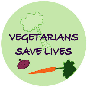 Vegetarians Save Lives