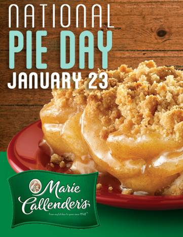 National Pie Day January 23