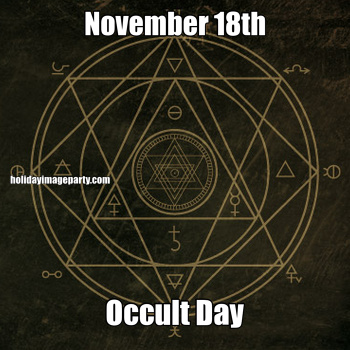 November 18th Occult Day