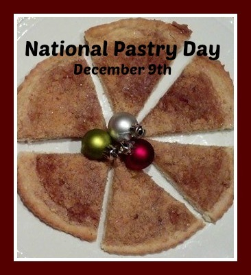 National Pastry Day December 9th