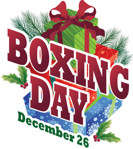 Boxing Day December 26