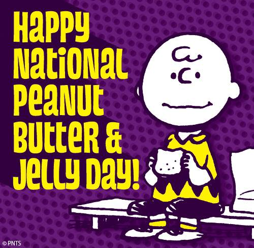 Happy National Peanut Butter and Jelly Day