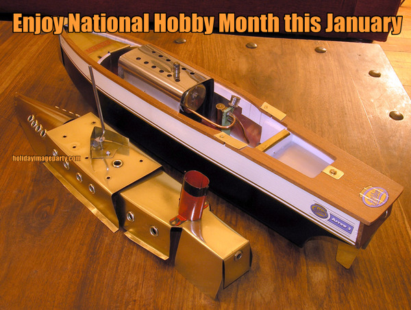 Enjoy National Hobby Month this January