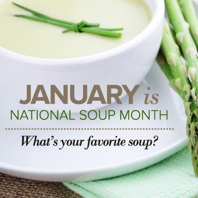 January is National Soup Month