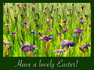 Have a lovely Easter!