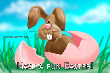 Have a fun Easter!
