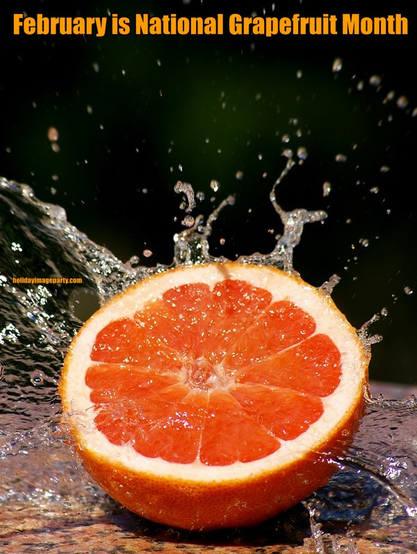February is National Grapefruit Month
