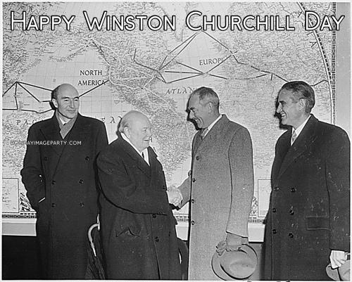 Happy Winston Churchill Day