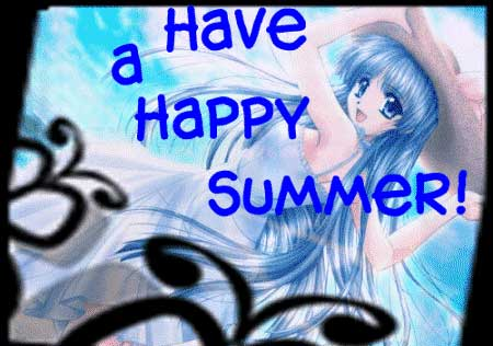 have a happy summer!