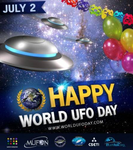 July 2 Happy World UFO Day