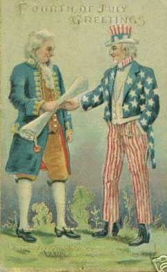 Fourth of July Greetings