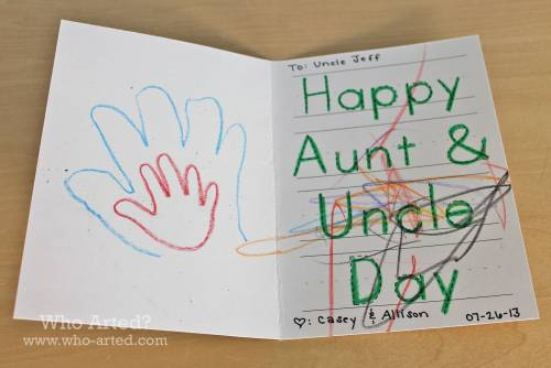 Happy Aunt and Uncle Day