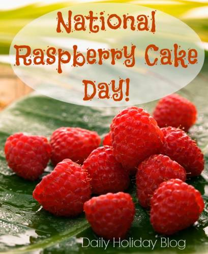 National Raspberry Cake Day!