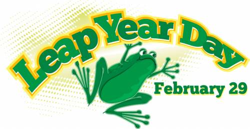 Leap Year Day February 29