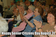 Happy Senior Citizens Day August 21