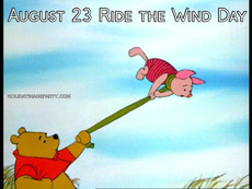 August 23 Ride the Wind Day