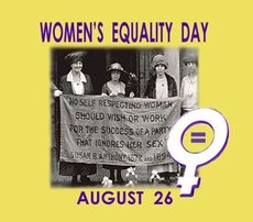Women's Equality Day August 26