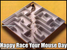 Happy Race Your Mouse Day
