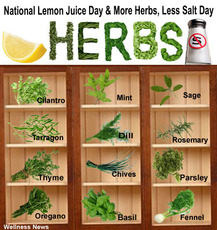 More Herbs, Less Salt Day