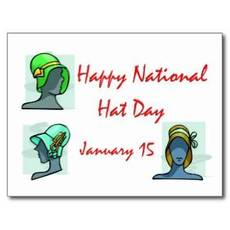 Happy National Hat Day January 15