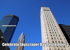 Celebrate Skyscraper Day September 3