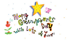 Happy Grandparents Day with lots of love