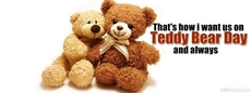 That's how i want us on Teddy Bear Day and always