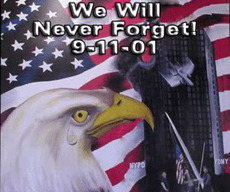 we will never forget 9-11-01