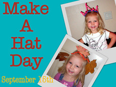 Make a Hat Day September 15