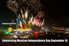 Celebrating Mexican Independence Day September 16