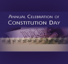 Annual Celebration Of Constitution Day