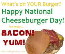 Happy National Cheeseburger Day