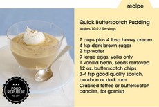 Quick Butterscotch Pudding Recipe