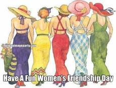 Have A Fun Women's Friendship Day