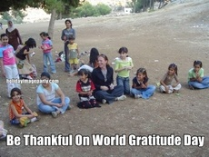 Be Thankful On World Gratitude Day