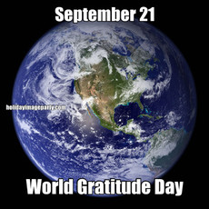 September 21 World Gratitude Day