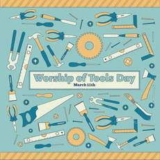 Worship of Tools Day