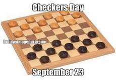 Checkers Day September 23