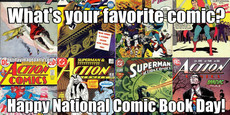 What's your favorite comic?  Happy National Comic Book Day!