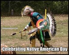 Celebrating Native American Day