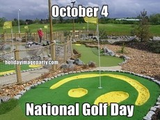 October 4 National Golf Day