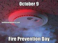 October 9 Fire Prevention Day