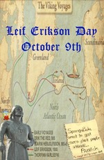 Leif Erikson Day October 9th