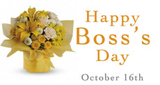 Happy Boss's Day October 16th