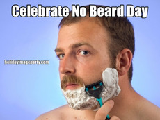 Celebrate No Beard Day